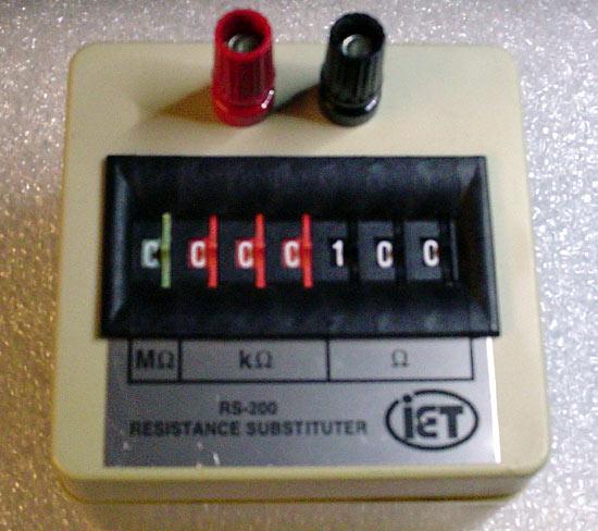 Adding a Mono Switch Decade-resistor