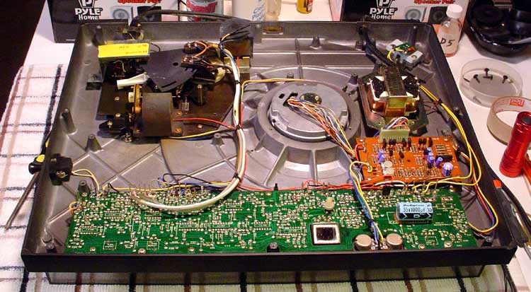 What's your Turntable? Mitsubishi-dp-ec10-guts