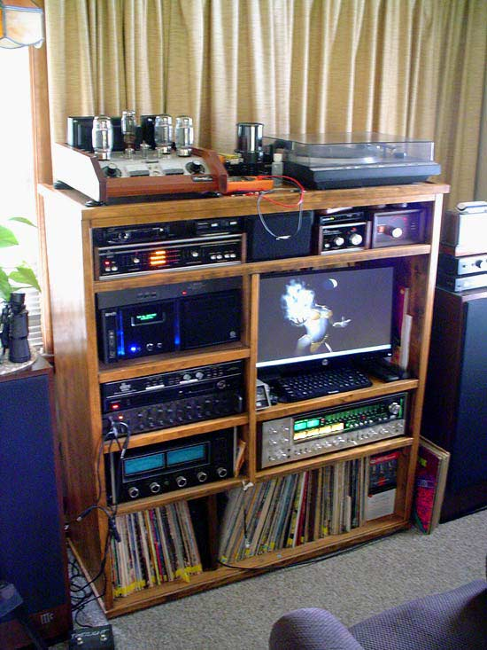 Some of my first audio gear - photo .. Home-again