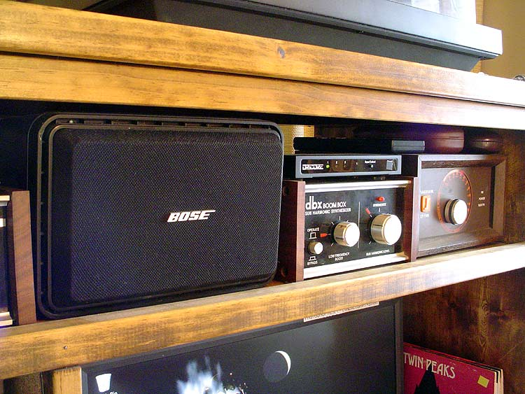 Center channel amp Boombox