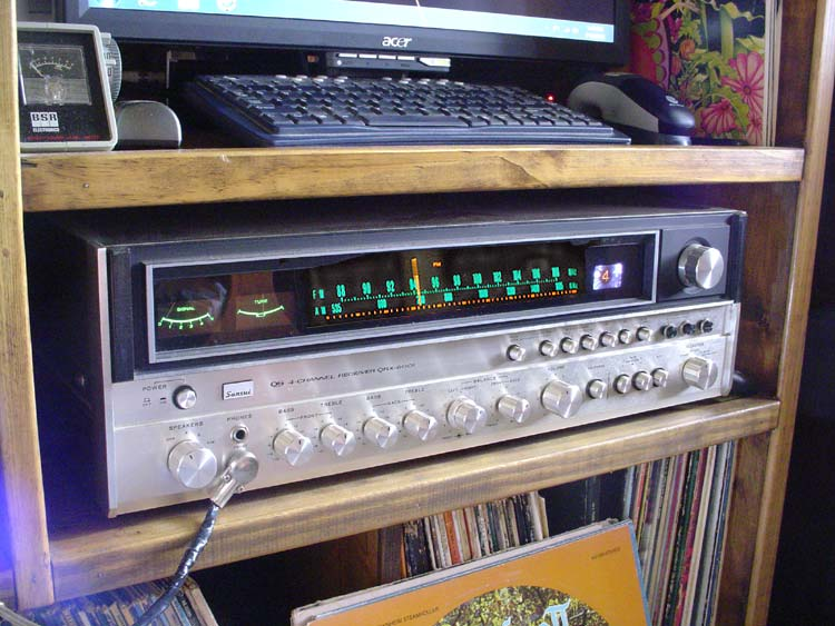 Sand Amps to sub for Tube Amps? Sansui-qrx6001
