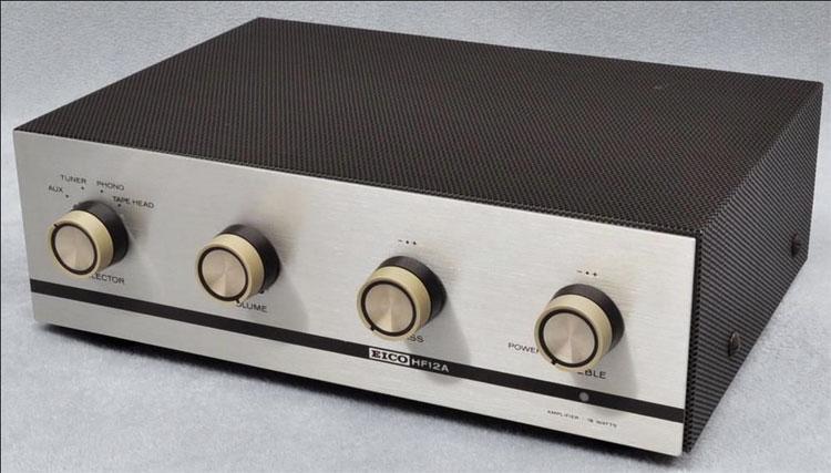 Center channel amp Eico-hf12a